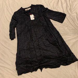 Diab'less Black Silk Dress